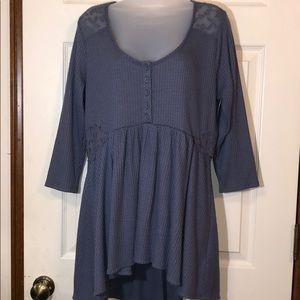 Torrid Henley Shirt Size 00